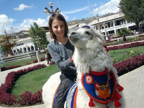 Miro Llama Huaraz- Kid World CItizen