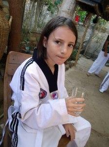 Miro tae kwon do- Kid World Citizen