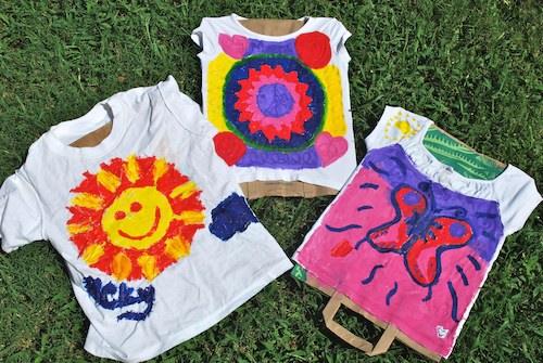 Batik Drying in the Sun- Kid World Citizen