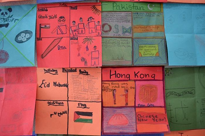 Diversity Quilt Kids Cultural Project- Kid World Citizen