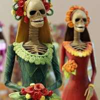 Why so many Skeletons & Skulls for Day of the Dead?
