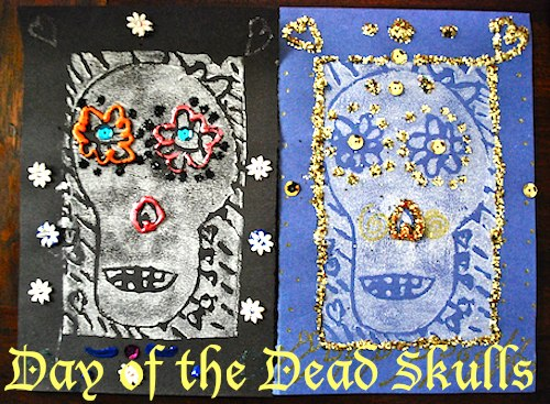 Day of the Dead Skulls- Kid World Citizen