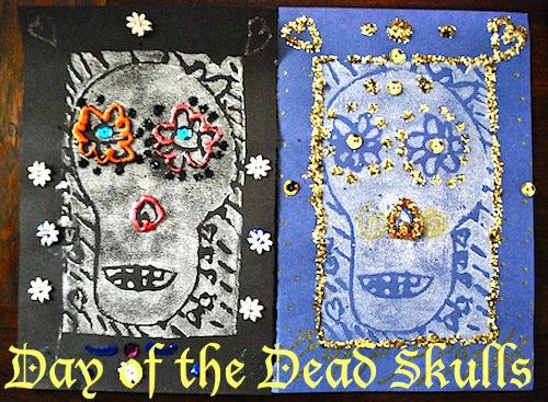 Day of the Dead Skulls- Kid World Citizen
