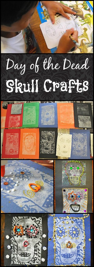 Skull Crafts Day of the Dead- Kid World Citizen