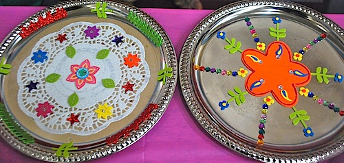 Thali Plates Diwali Craft- Kid World Citizen