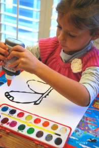 Monarch Butterfly Kids Art- Kid World Citizen