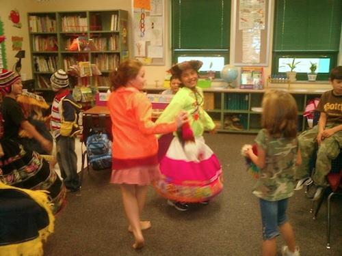 Kids Volunteering Kyra Dancing- Kid World Citizen