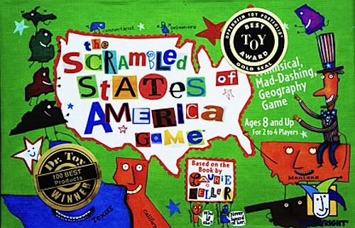 Scrambled States Game- Kid World Citizen