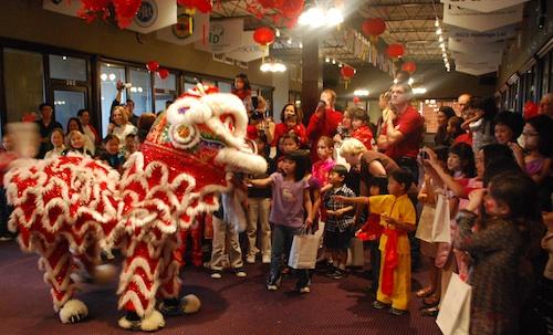 Chinese New Year Lion Dance- Kid WOrld Citizen