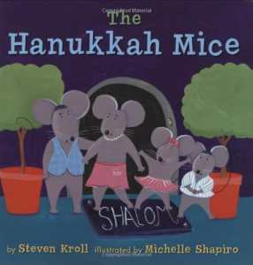 Hanukkah Books for Kids Mice- Kid World Citizen