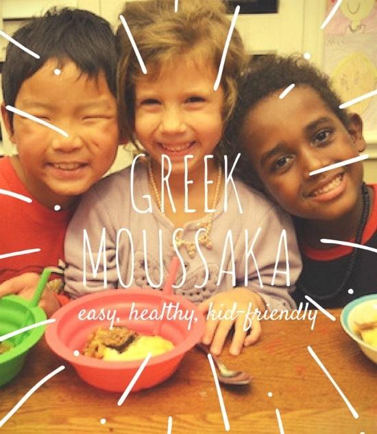 Greek Food Moussaka Recipe- Kid World Citizen