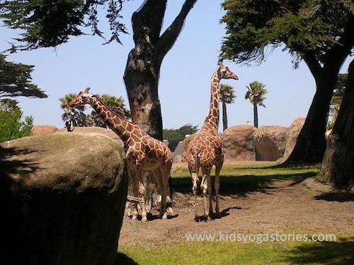 Giraffe Yoga for Kids- Kid World Citizen