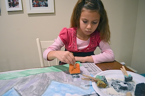 Inuit Art Project Inukshuk- Kid World Citizen