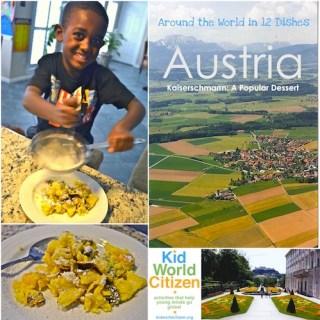 Austria Kaiserschmarrn Recipe Kids- Kid World Citizen