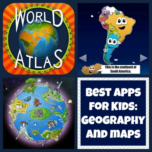 Best Apps for Kids Geography Maps- Kid World Citizen