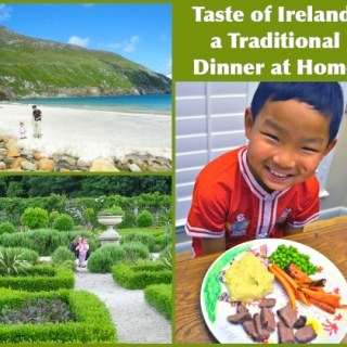 Irish Dinner at Home- Kid World Citizen