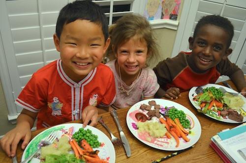 Irish Roast Beef Carrots Peas Potatoes Irish Food- Kid World Citizen
