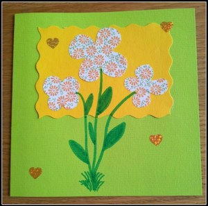Spring Now Ruz Card Exchange- Kid World Citizen