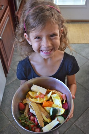 Composting with Kids- Kid World Citizen