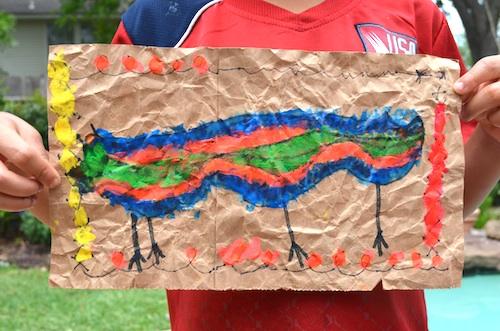 Mexican Amate Folkart for Kids- Kid World Citizen