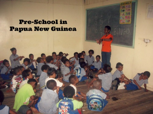 Preschool Papua New Guinea- Kid World Citizen