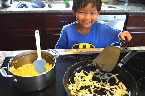 Tortilla de Patata Spain Recipe- Kid World Citizen