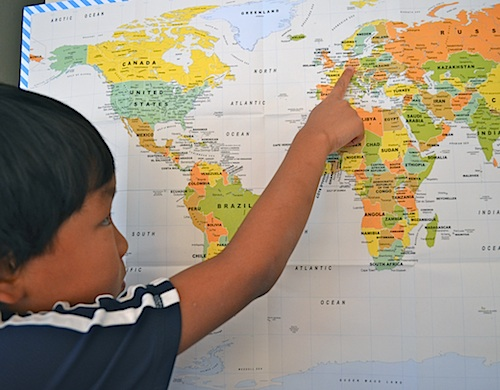 Little Passports Map Activity- Kid World Citizen