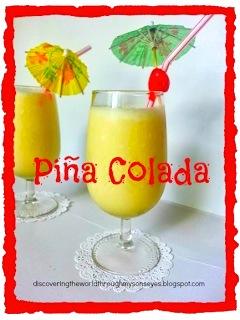 Pina Colada- Kid World Citizen