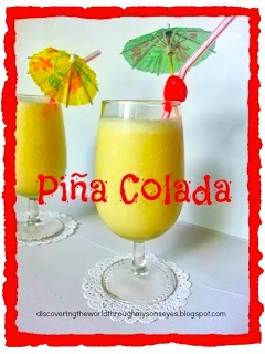 Pina Colada- Kid World Citizen