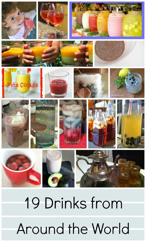 Drinks from Around the World- Kid World Citizen