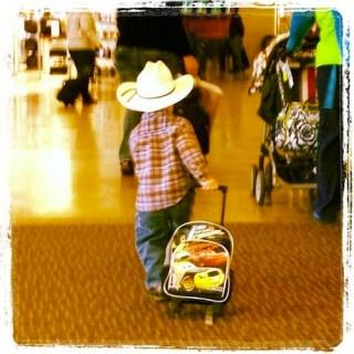 Europe with Kids little cowboy- Kid World CItizen