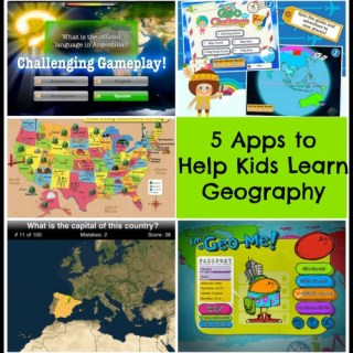 Five Map Apps to Help Children Learn Geography