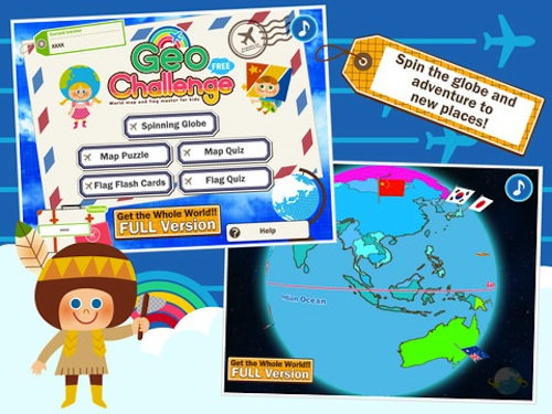 Map Apps To Help Children Learn About Maps And Geography - Geography map games