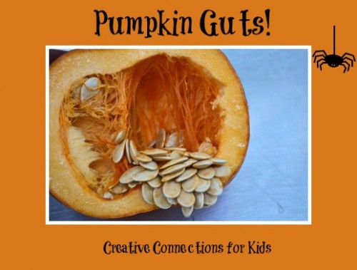 Exploring Pumpkin Guts for Halloween- Kid World Citizen