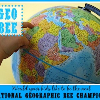 National Geographic Bee (Geo Bee!)