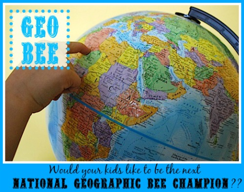 Geo Bee Resources- Kid World Citizen