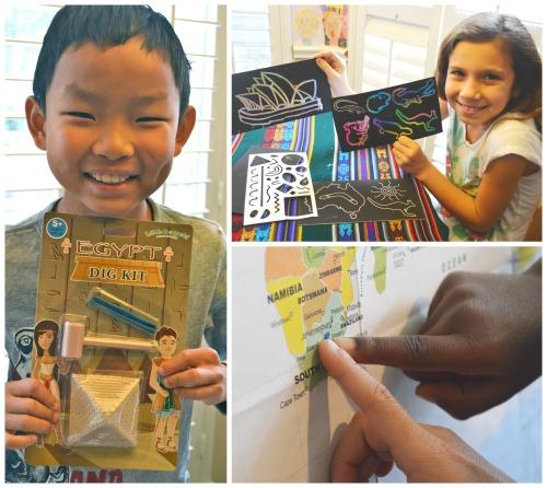 Souvenirs from Little Passports- Kid World Citizen