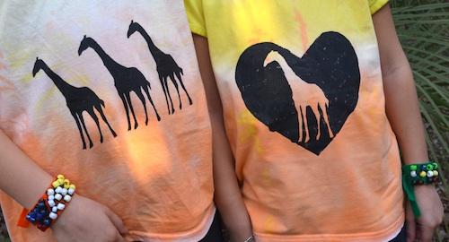 DIY Tie Dye Kids African Sunset- Kid World Citizen
