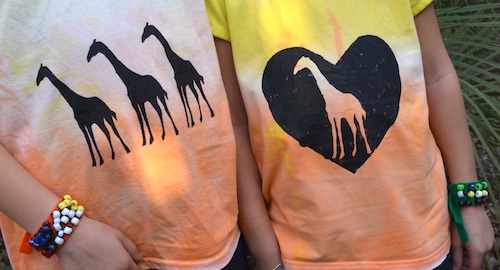 DIY Tie Dye Kids African Sunset- Kid World Citizen