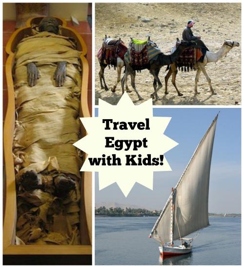 Travel Egypt with Kids- Kid World Citizen