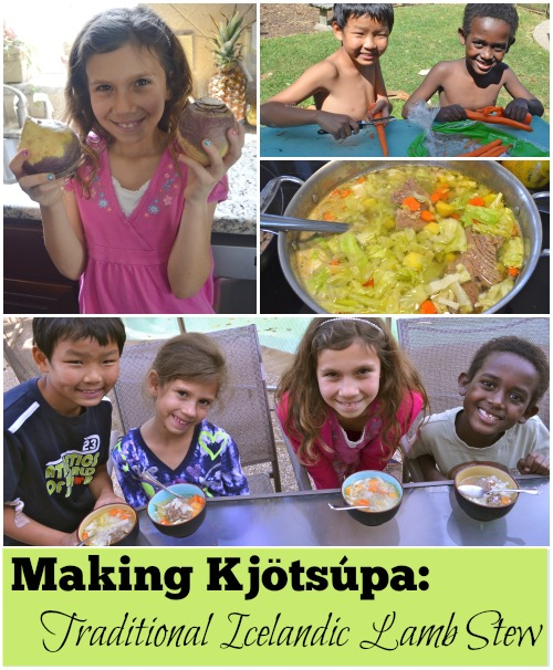 Kjotsupa Icelandic Lamb Stew Recipe- Kid World Citizen