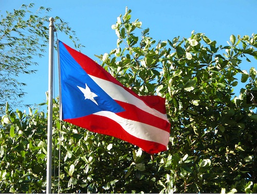 Puerto Rican Flag- Kid World Citizen
