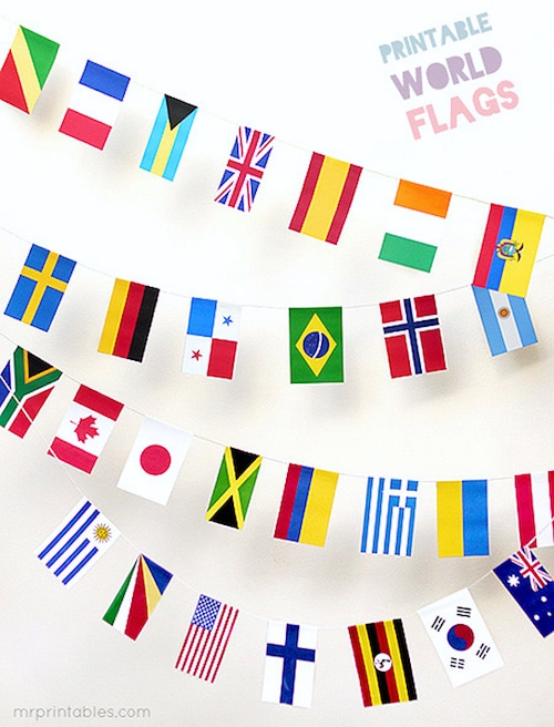 Printable World Flags- Kid World Citizen