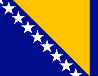 Flag of Bosnia and Herzegovina- Kid WOrld Citizen
