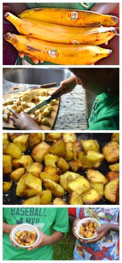 Kelewele Fried Plantains Recipe- Kid World CItizen