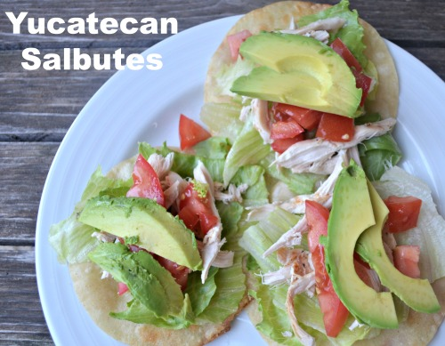 Yucatecan Food Salbutes- Kid World Citizen