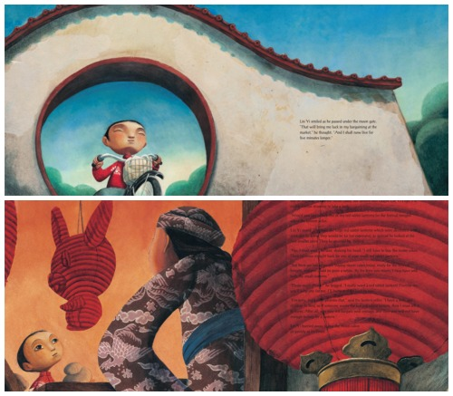 Lin Yi Lantern Illustrations- Kid World Citizen