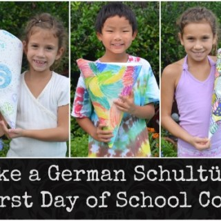 "Make a Schultuete: A German ""School Cone"""