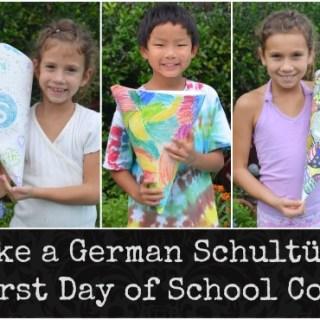 Make a Schultute Germany- Kid World Citizen