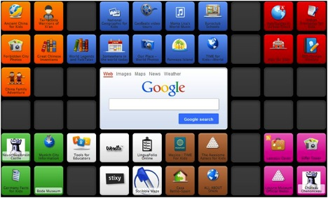 Symbaloo Teacher Organizer- Kid World Citizen